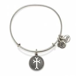 Alex and Ani Armenian Cross Charm Bangle Bracelet