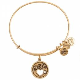 Alex and Ani Exclusive Motherly Love Charm Bangle in Rafaelian Gold