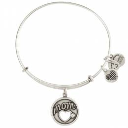 Alex and Ani Exclusive Motherly Love Charm Bangle in Rafaelian Silver