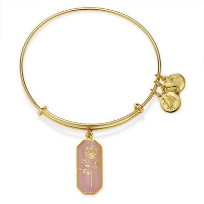 Road To Romance Rose Charm Bangle