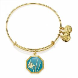 Alex and Ani Truth And Honor Narcissus Charm Bangle