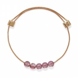 Alex and Ani Antique Pink Swarovski Crystal Expandable Bracelet