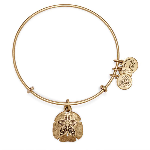 ALEX AND ANI Sand Dollar Charm Bangle