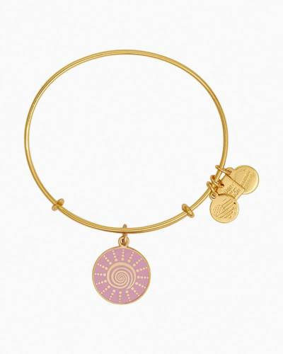 Spiral Sun Charm Bangle   The Breast Cancer Research Foundation
