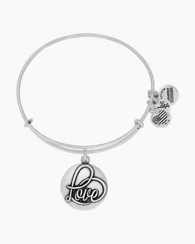 Love Expandable Charm Bangle