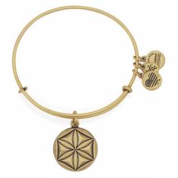 Alex and Ani Aphrodite's Flower Expandable Charm Bangle