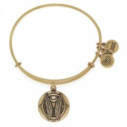 ALEX AND ANI Godspeed Expandable Charm Bangle