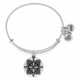 ALEX AND ANI Healing Love Expandable Charm Bangle