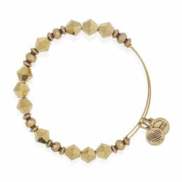 Alex and Ani Golden Luster Wonder Beaded Bangle