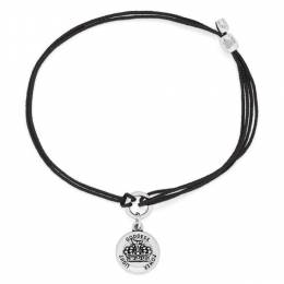 Alex and Ani Queen's Crown Pull Cord Bracelet