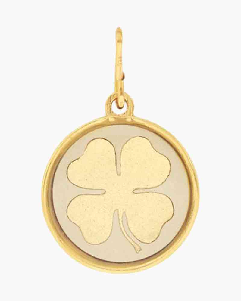 Alex and Ani Four Leaf Clover Two Tone Charm