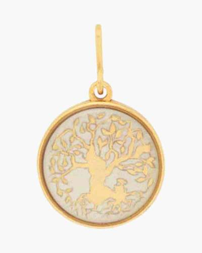 Tree Of Life Two Tone Charm