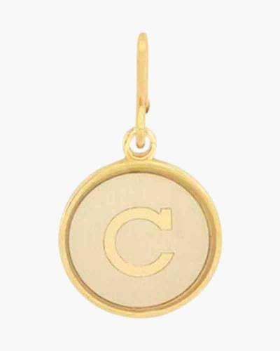 Initial C Two Tone Charm
