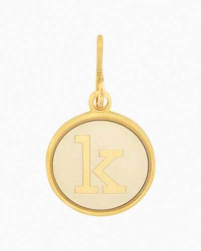 Initial K Two Tone Charm