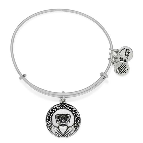 Alex and Ani Claddagh Charm Bangle