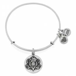 Alex and Ani LOTUS PEACE PETALS Charm Bangle