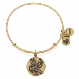 Alex and Ani Sacred Dove Charm Bangle
