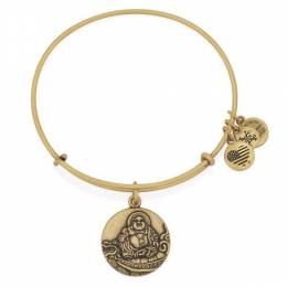 Alex and Ani Laughing Buddha Charm Bangle