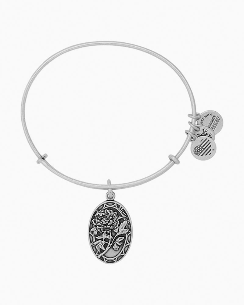 Alex and Ani Mom Expandable Wire Bangle