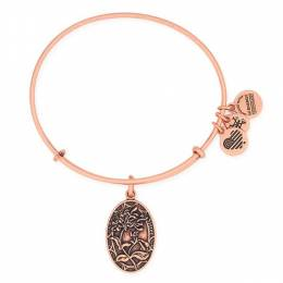 Alex and Ani Sister Expandable Wire Bangle in Rafaelian Rose Gold