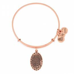 Alex and Ani Daughter Expandable Wire Bangle in Rafaelian Rose Gold