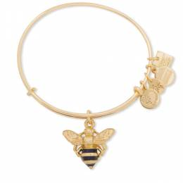 Alex and Ani Earth's Caretakers Bumble Bee Expandable Wire Bangle