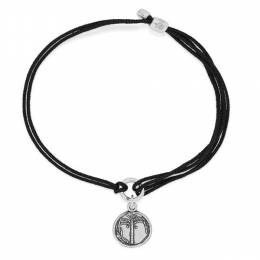 ALEX AND ANI Palm Tree Pull Cord Bracelet