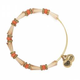 Alex and Ani Harmony Beaded Expandable Wire Bangle in Sunset