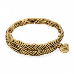 Alex and Ani Rolling Hills Wrap in Rafaelian Gold Finish