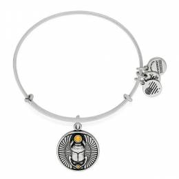 Alex and Ani Scarab Charm Bangle
