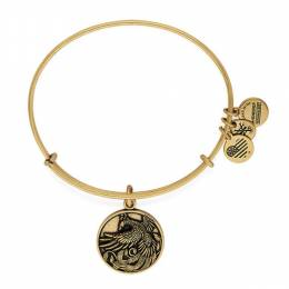 Alex and Ani Phoenix Charm Bangle