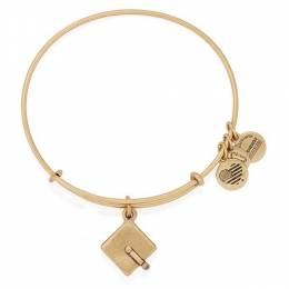 Alex and Ani Graduation Cap Expandable Wire Bangle