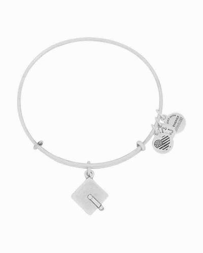 Graduation Cap Expandable Wire Bangle
