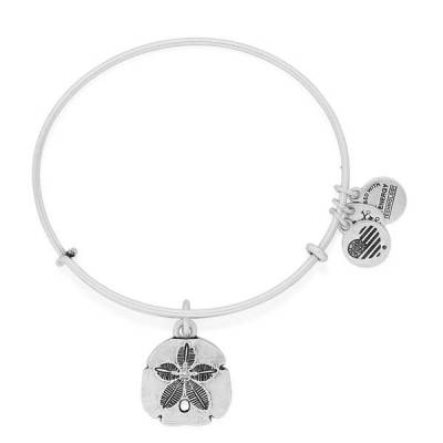 Sand Dollar Expandable Wire Bangle