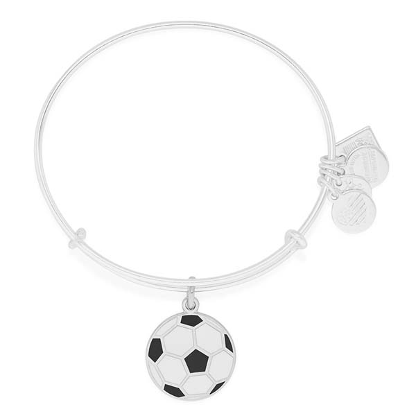 Alex and Ani Soccer Team USA Expandable Wire Bangle