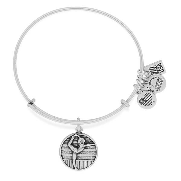 Alex and Ani Gymnastics Team USA Expandable Wire Bangle