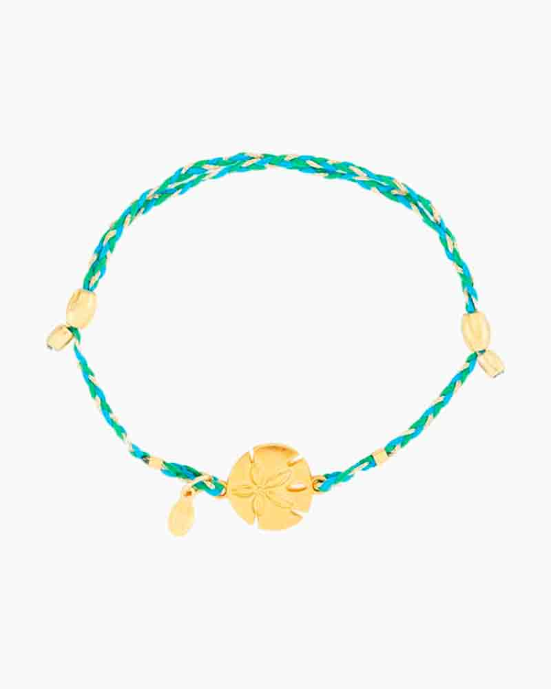 Alex and Ani Sand Dollar Expandable Precious Threads Bracelet