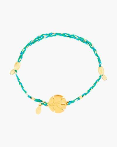 Sand Dollar Expandable Precious Threads Bracelet