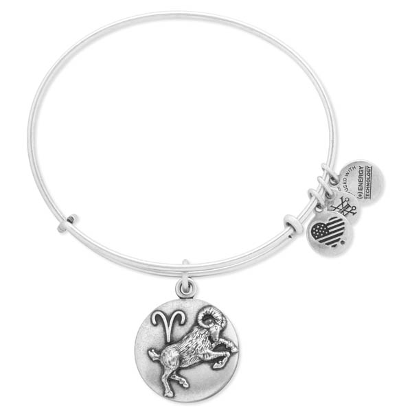 Alex and Ani Aries Expandable Wire Bangle