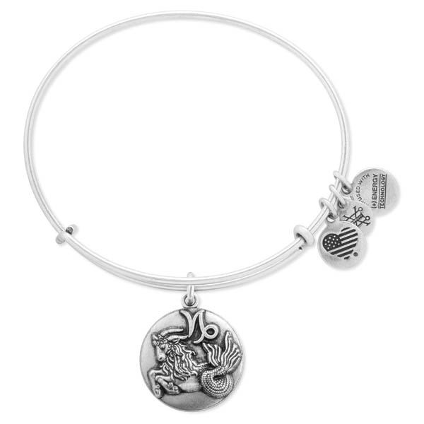 Alex and Ani Capricorn Expandable Wire Bangle