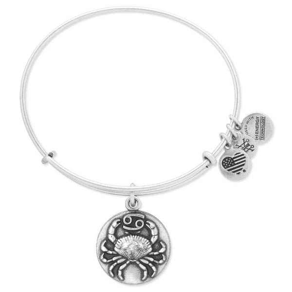 Alex and Ani Cancer Expandable Wire Bangle