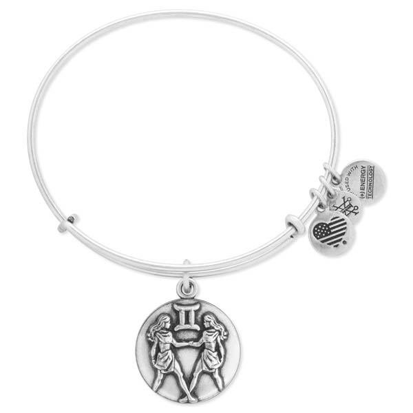 Alex and Ani Gemini Expandable Wire Bangle