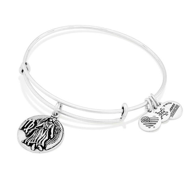Alex and Ani Virgo Expandable Wire Bangle