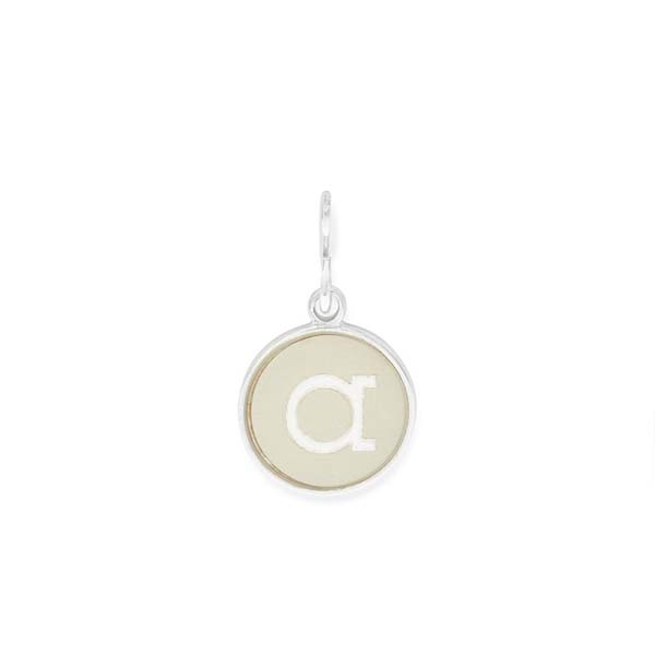 Alex and Ani Initial A Two Tone Charm