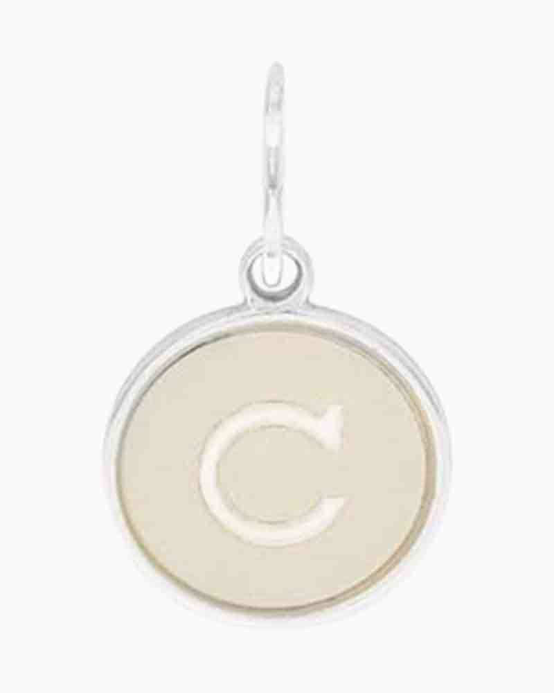 Alex and Ani Initial C Two Tone Charm