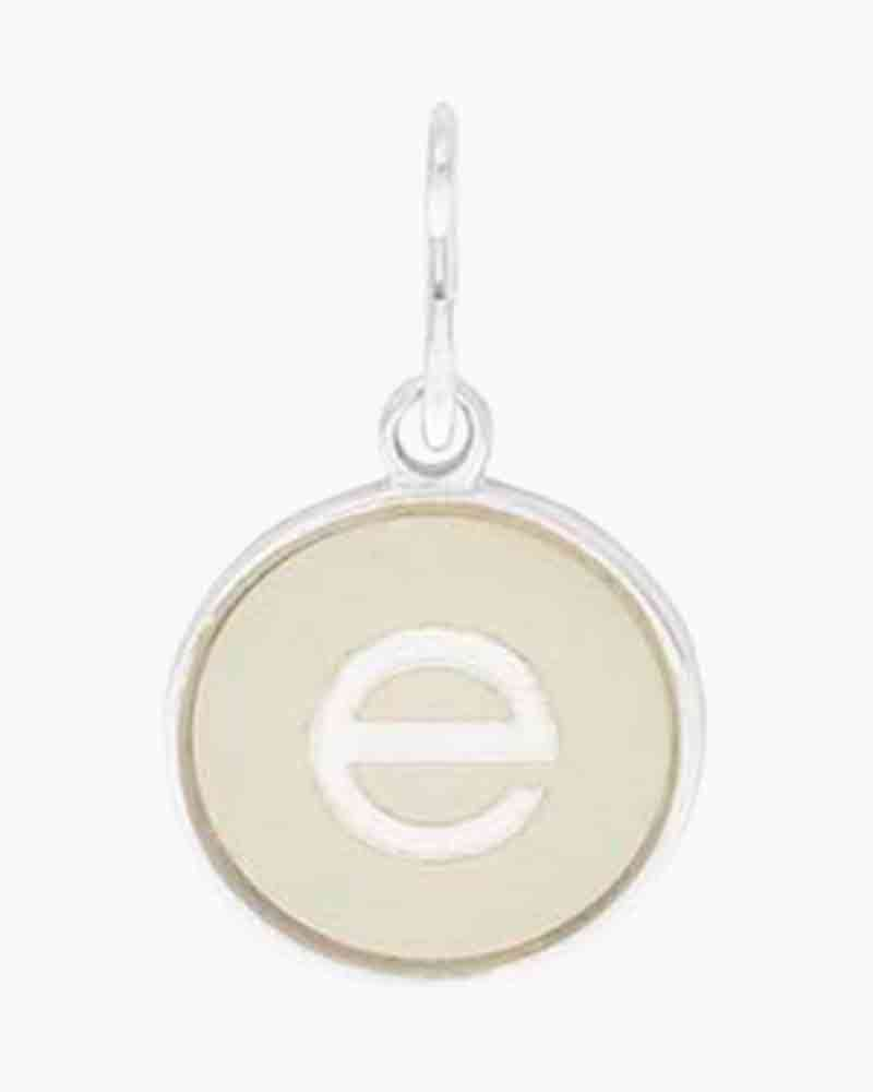 Alex and Ani Initial E Two Tone Charm