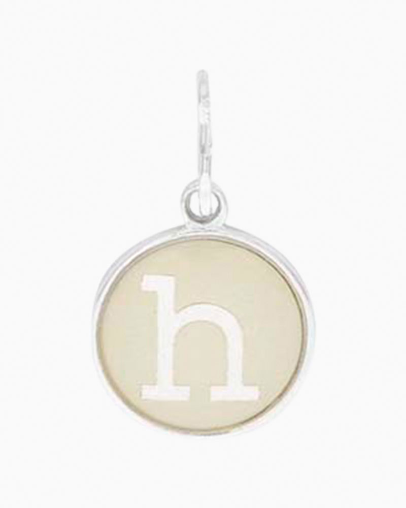 Alex and Ani Initial H Two Tone Charm