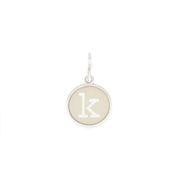 Alex and Ani Initial K Two Tone Charm