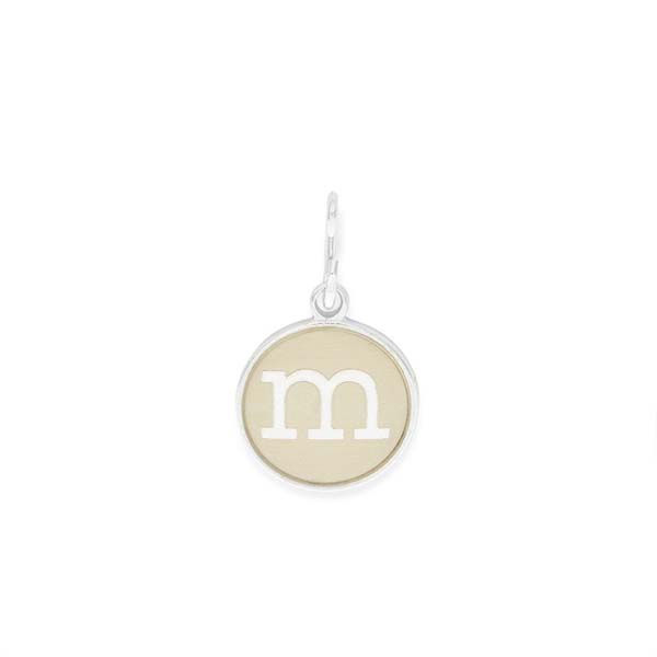 Alex and Ani Initial M Two Tone Charm