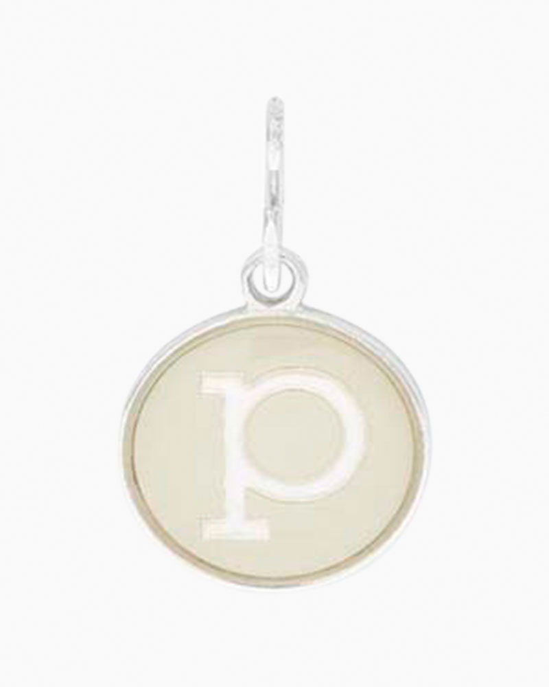 Alex and Ani Initial P Two Tone Charm